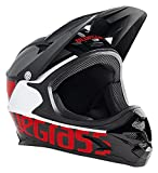Bluegrass Intox Helm, Black/Red/White, 56-58 cm