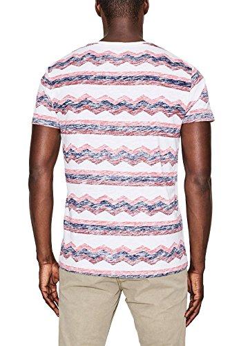 edc by ESPRIT Herren T-Shirt Weiß (White 2 101)