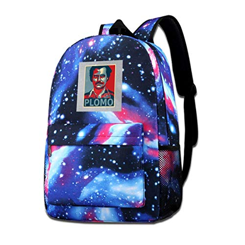 Galaxy Printed Shoulders Bag Narcos Pablo Escobar EL Patron Fashion Casual Star Sky Backpack for Boys&Girls