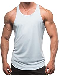 53ed3b4c142d TININNA Estate Uomo Sportivo Palestra Muscolo Formazione Cotone Vest Senza  Maniche Bodybuilding Sports Canotte T Shirt