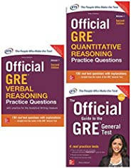 McGraw Hill Education's GRE Prepration Combo (Set of 3 bo