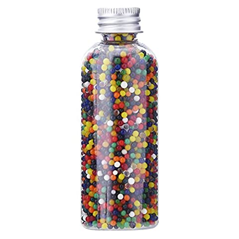 eBoot Water Crystal Beads Water Gel Beads Vase Filler Jelly Gel Crystal Beads for Wedding Home Decoration, 10000 Pieces in Clear Bottle