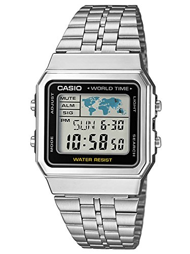Casio Collection Unisex-Armbanduhr A500WEA 1EF