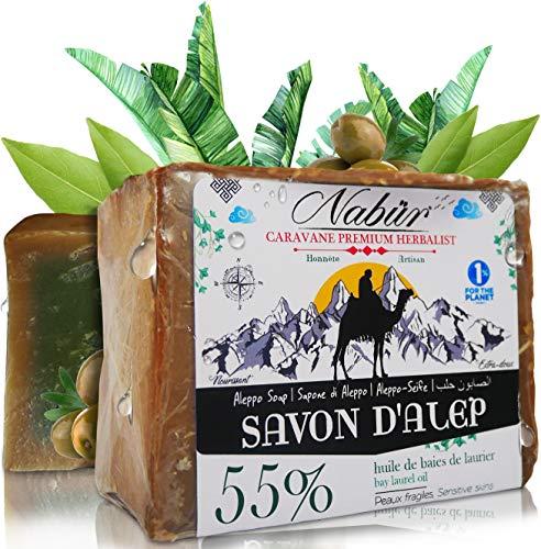 Nabür - Jabón Alepo 55% Aceite Laurel + 45% Aceite