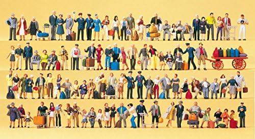 Preiser 1/87 Ème - PR13000 - Modélisme Ferroviaire - Super Set-100 Figurines Exclusives | Excellent (dans) La Qualité
