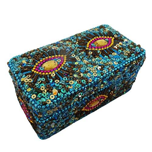 scatola di designer di gioielli fatti a