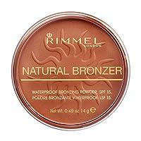 Rimmel London, Natural Bronzer, 25 Sun Glow, 14 g