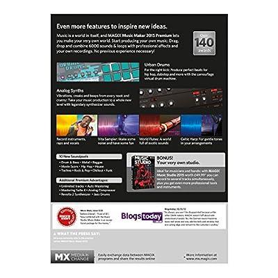 Magix Music Maker 2015 Premium (PC)