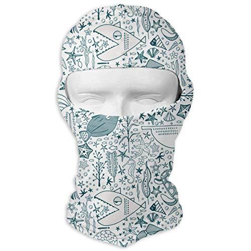 ish Ski Motorcycle Balaclava Mask Sunscreen Hat Windproof Cap Multicolor5 ()