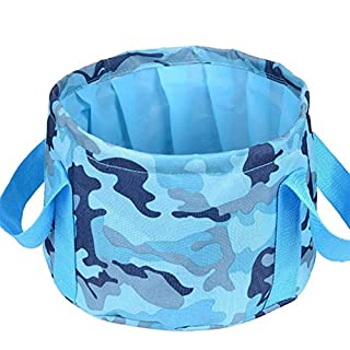Faltbare Bucket-Durable Leak-Proof Wash Basin-Premium Compact Sehr gut für Picknick to Carry Food/Fishing Outdoor Essential.