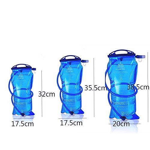 Imagen de aonijie–bolsa de hidratación para  de senderismo sistema de hidratación con reserva de agua para 1l, 1,5l, 2l, 3l  alternativa