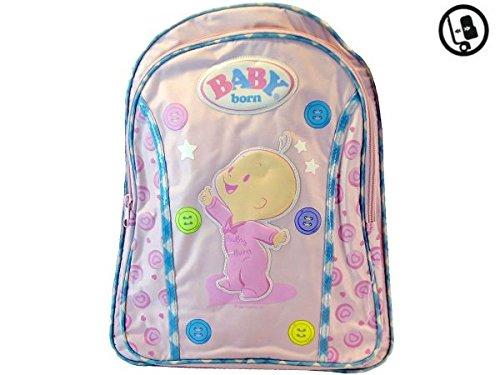 MOCHILA INFANTIL BABY BORN 40x32cm!*10#*