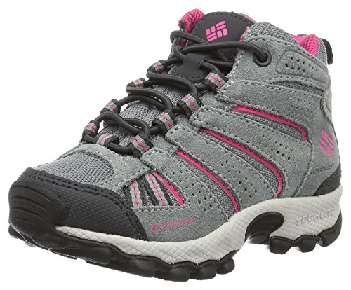 Columbia Childrens North Plains Mid Waterproof, Chaussures de Randonnée Hautes Fille