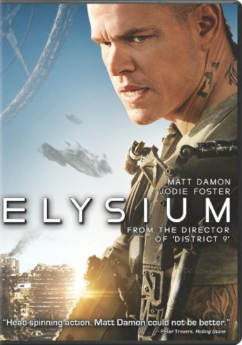 elysium dvd Elysium by Matt Damon