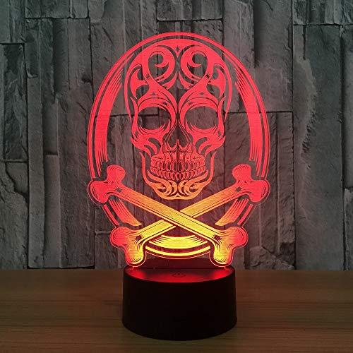 e Atmosphäre Nachtlichter LED Lampe Halloween Thema Party Wohnzimmer Schlafzimmer Tisch Schreibtisch Dekor ()