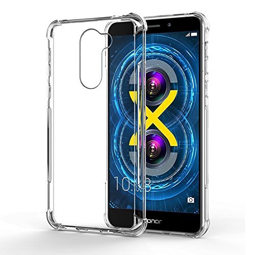 Coque Honor 6X, SPARIN TPU Coque Housse Protection Etui Pour Huawei Honor 6X, Transparent