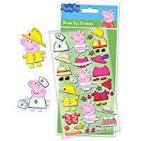 Paper Projects 01.70.34.001 Peppa Pig Dress Up Stickers