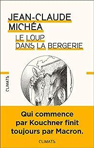 Le loup dans la bergerie par Jean-Claude Michéa