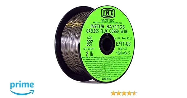 Proweltek Reel of Gasless Flux Welding/MIG-MAG Cored Wire (Diameter ...