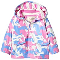 Hatley Baby Girls 0-24m Puzzle Piece Horses Raincoat