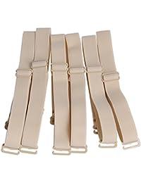 b02de79558 Closecret Lingeries Accessories Ladies Elastic Adjustable Removable  Replacement Bra Shoulder Straps 12mm 15mm Width Band (Pack