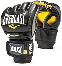 MMA POWERLOCK FIGHT GLOVES Professional Competition Thumbless Grappling Gloves