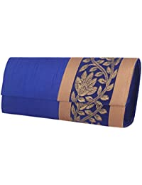 Mela Women's Clutch (Blue) (SM133100055)