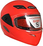 #5: Sunny Motospin Full Face Helmet (Red) (Size-M/L)