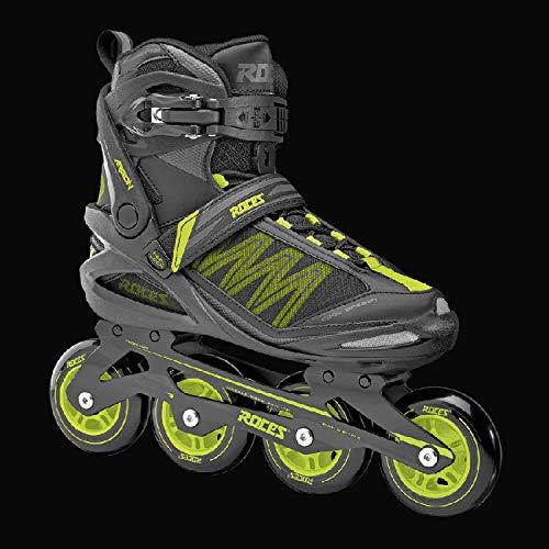 Inline-Skates Für Erwachsene 39 Schwarz Gelb (Für Outfit Erwachsene Minion)