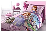 Unbekannt Faro Disney Sofia The First Biancheria da Letto, 160 x 200, Cotone, Multicolore, 200 x 160 cm