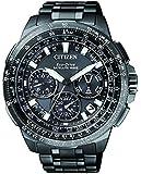 Citizen Herren-Armbanduhr Promaster Sky Satellite Wave Chronograph Quarz Titan CC9025-51E