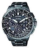 Citizen Herren Chronograph Quarz Uhr mit Titan Armband CC9025-51E