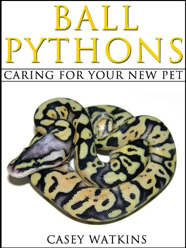 Ball Pythons: Caring For Your New Pet (Reptile Care Guides) (English Edition)