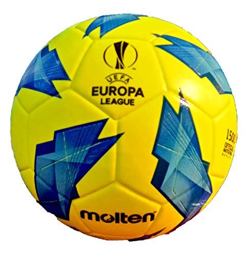 Molten F5u1500 Ballon de Foot UEFA Europa League 2019 Taille 5 Jaune cbe231705bb79