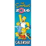 The Official the Simpsons 2016 Slim Calendar