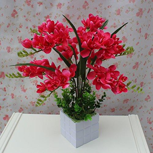 LIXIAOXIN Butterfly Orchid Topfpflanzen Simulation Dekoration False Rose Rot