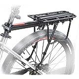 COMINGFIT® 50kg Capacity Almost Universal Adjustable Bike Luggage Cargo Rack Bicycle Accessories Equipment Stand Footstock Bi