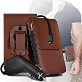 (Brown) case for ALLVIEW P8 ENERGY MINI case (PU) Leather