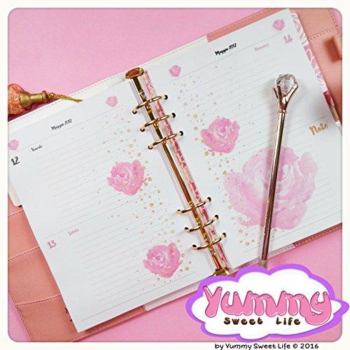 a5-refill-handmade-per-agende-planner-2-giorni-per-pagina-rose
