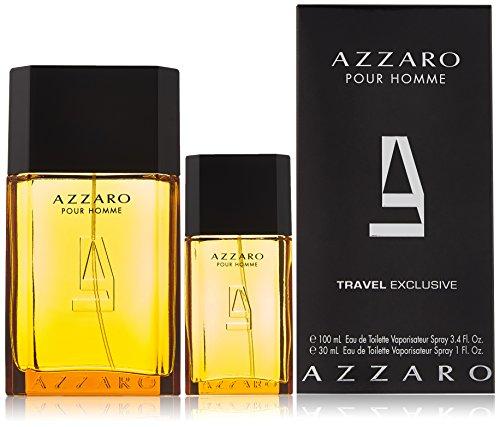 """Azzaro """"Pour Homme"""" man Set (Eau De Toilette 100 ml + Eau De Toilette 30 ml) 1er Pack(1 x 1 Stück)"""