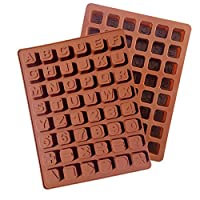 Generic Letter Alphabet Ice Maker mold Flexible Silicone Cake Mold Chocolate Cookie Resin fondant Mold Free Shipping