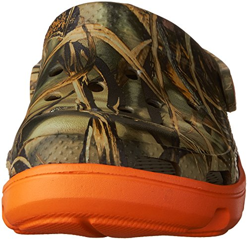 Crocs Duet Sport Clog Realtree Chocolate/Orange