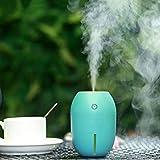 Chi Cheng Fang Electronic business Auto Luftbefeuchter Ätherisches Öl Diffusor Aromatherapie USB Mini Spray Stumm, 4 Stunden Timing (Color : Blue)