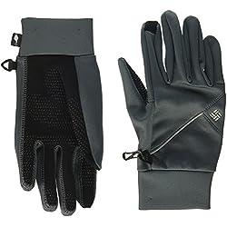 Columbia W Trail Summit Running Glove Guantes, Mujer, Graphite, Talla S