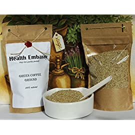 Health Embassy Green Coffee Bean – Ground – 225g