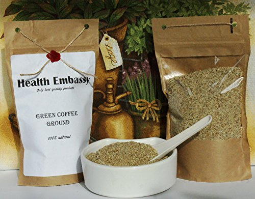 Green Coffee Bean – Ground – 100% Natural – Health Embassy 250g 51mOhpDUAGL