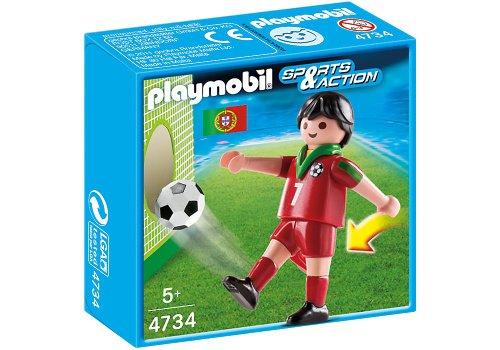 Playmobil 626674 - Fútbol Jugador Fútbol-Portugal