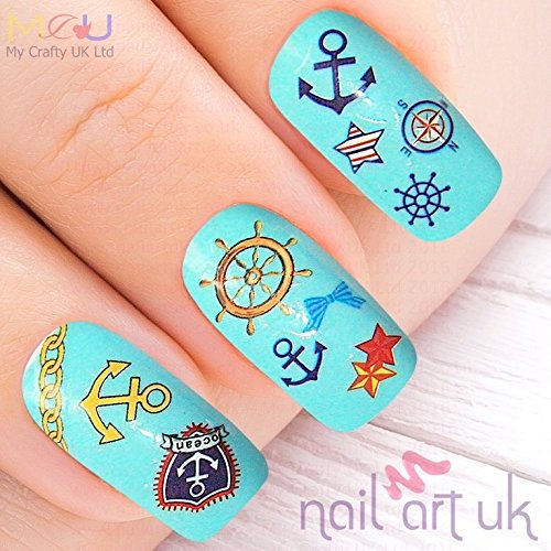 42-ongles-adhesif-art-nautique-stickers-stickers-decorations-ancrage-boussole-mer