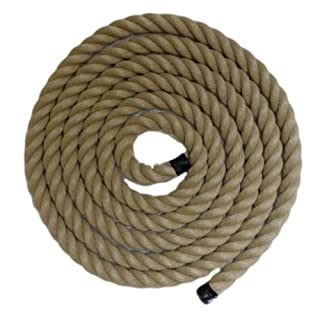 RopeServices UK 30Mm Decking Rope,Poly Hemp/Synthetic Hemp Rope