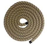 Resistentes RopeServices UK 20Mts X 30 mm cuerda, construcción cáñamo, Hempex.